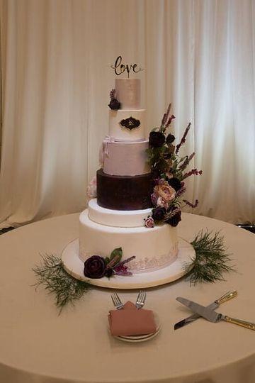 Sweet Confections Wedding Cake
