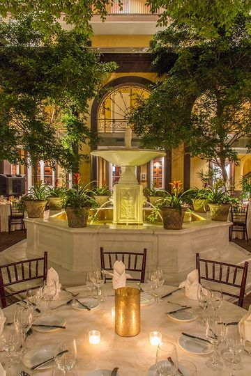 Courtyard - Rehearsal Dinner