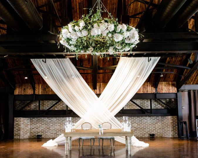 The Floral Chandelier
