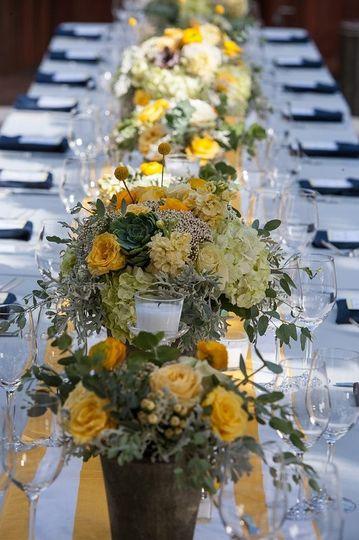 wedding 1 head table