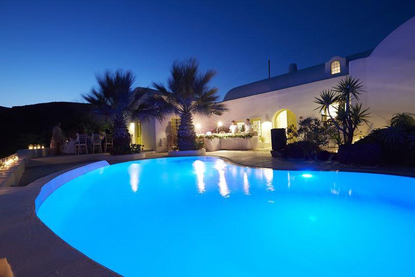 wedding santorini private villa exclusive 4