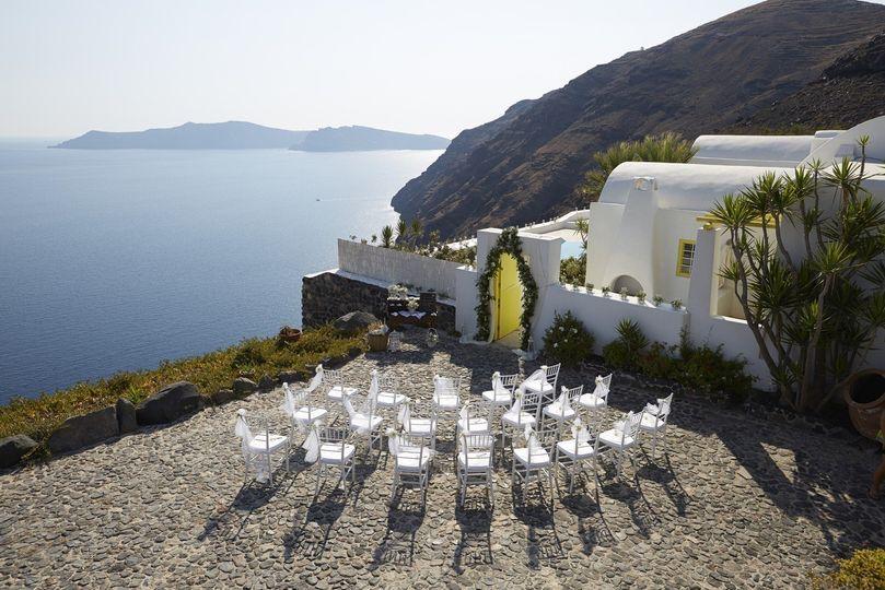 wedding santorini private villa exclusive 31