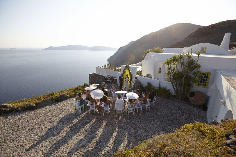 wedding santorini private villa exclusive 38