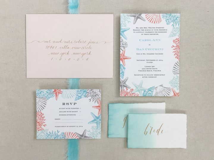 Tmx 1484265482950 Carol4 Philadelphia, Pennsylvania wedding invitation