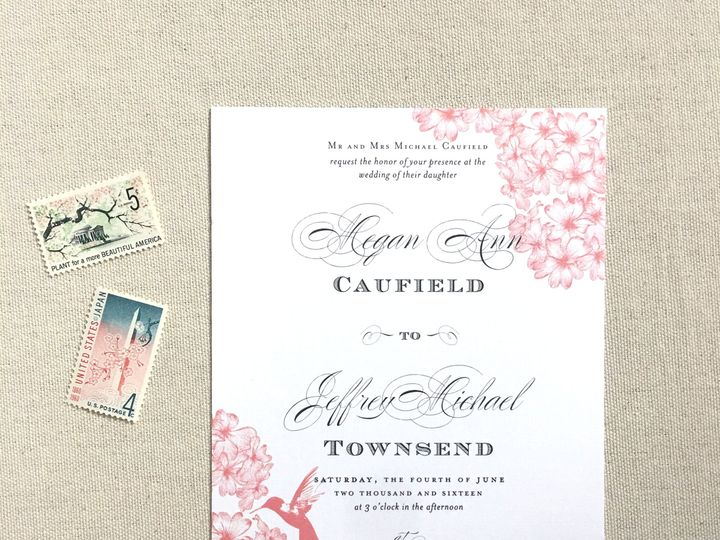 Tmx 1484266209040 Invite Single Philadelphia, Pennsylvania wedding invitation