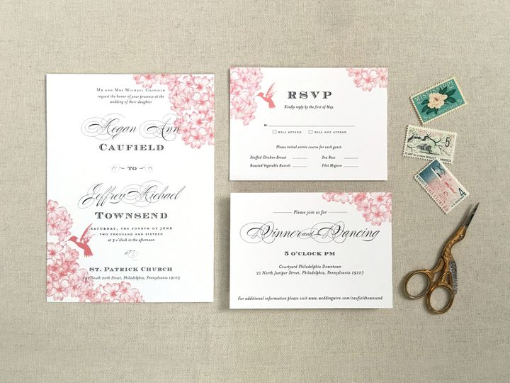 Tmx 1484266377153 Invite Whole Philadelphia, Pennsylvania wedding invitation