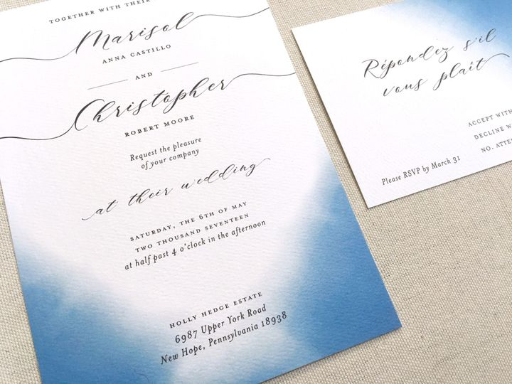 Tmx Close Up 51 921547 1557421164 Philadelphia, Pennsylvania wedding invitation