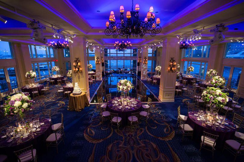 Boston Harbor Hotel Wharf Room Capacity