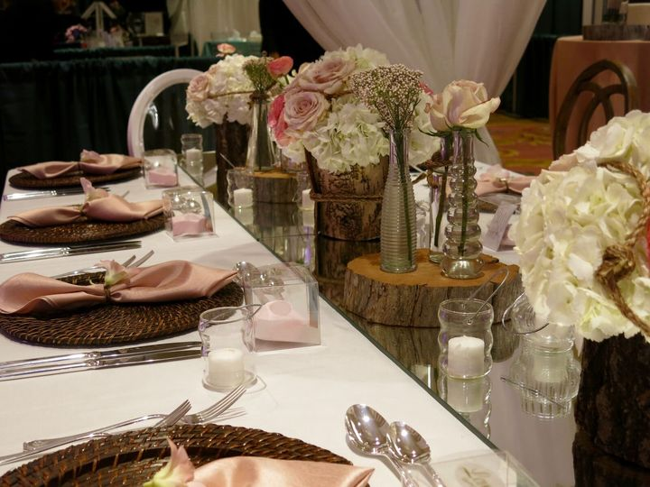 Rustic and elegant celebration
