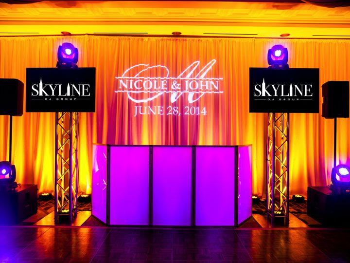 Tmx Skyline Dj Group Tv Set Up 51 1024547 New York, New York wedding dj