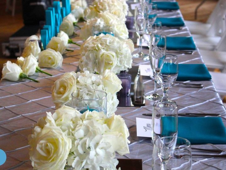 Tmx 1508348138589 Long Table Flowers 624 Yonkers, NY wedding florist