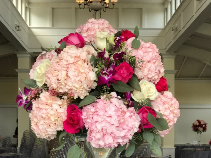 Tmx 1508348388551 Tall Pink 917 Yonkers, NY wedding florist