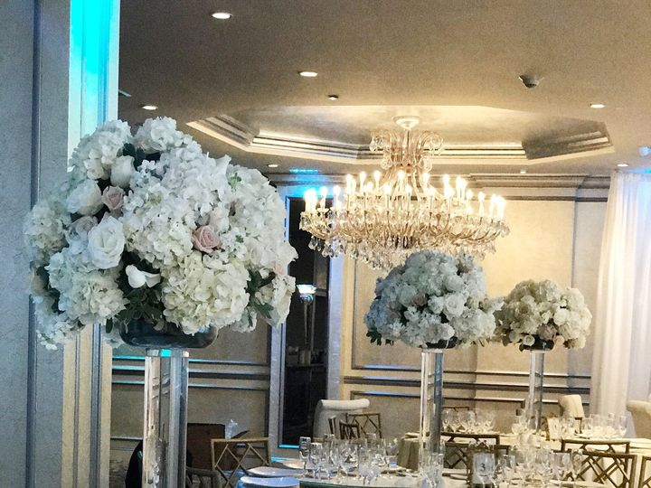 Tmx 1508348525755 White Tall Centerpiece Yonkers, NY wedding florist