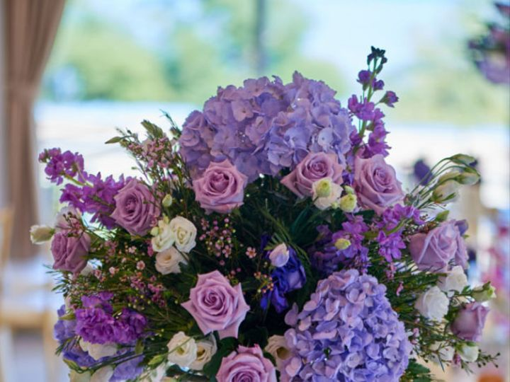 Tmx Purple Tall Centerpiece 51 784547 Yonkers, NY wedding florist