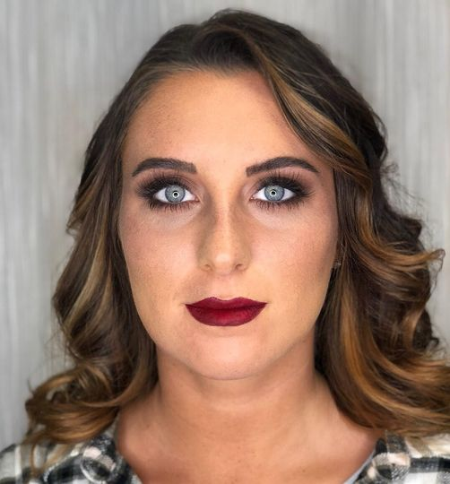 Bold lip and eye for cmas