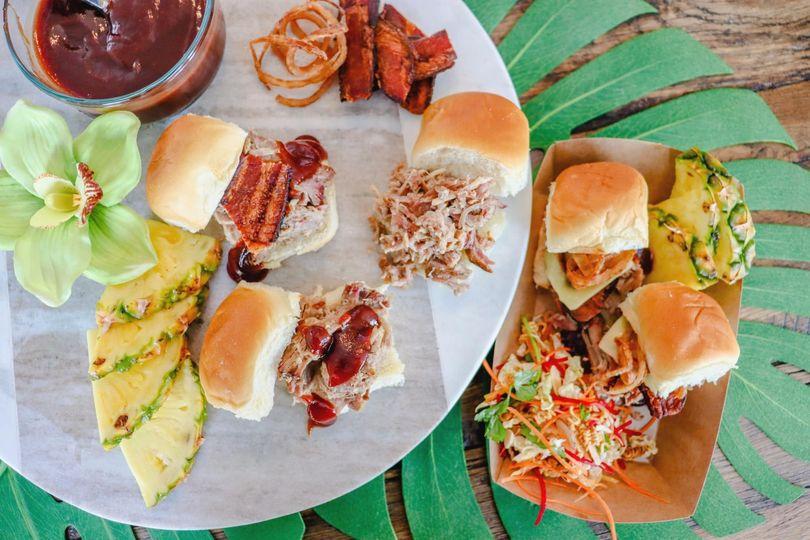 Luau Pork Sliders