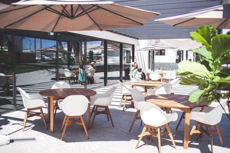 The Elm Estate - back patio