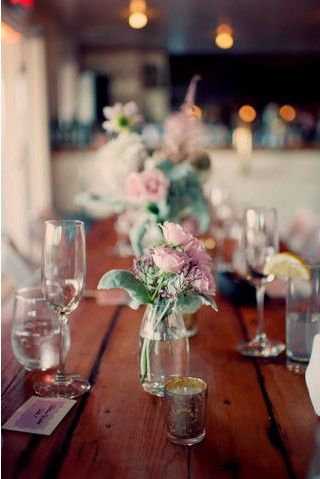 Table and glasses