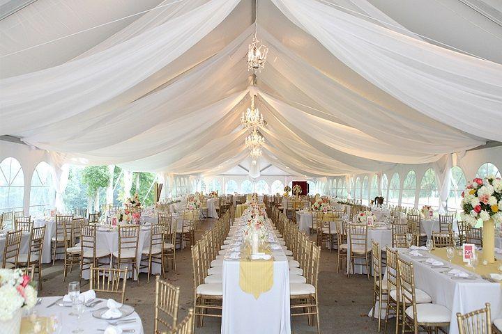Outside Wedding Venue (Tent)