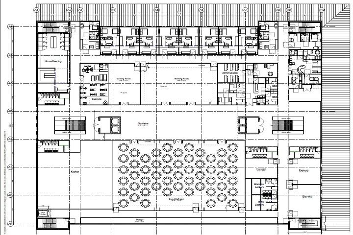 Hotel Second Floor Plans