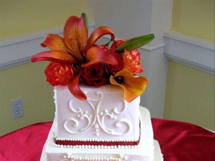 Tmx 1220551910753 WC OrangeandRed Claremont, California wedding cake