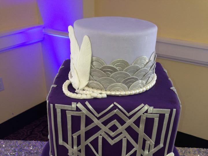 Tmx 1478631451288 Lindley060614 Art Deco Claremont, California wedding cake