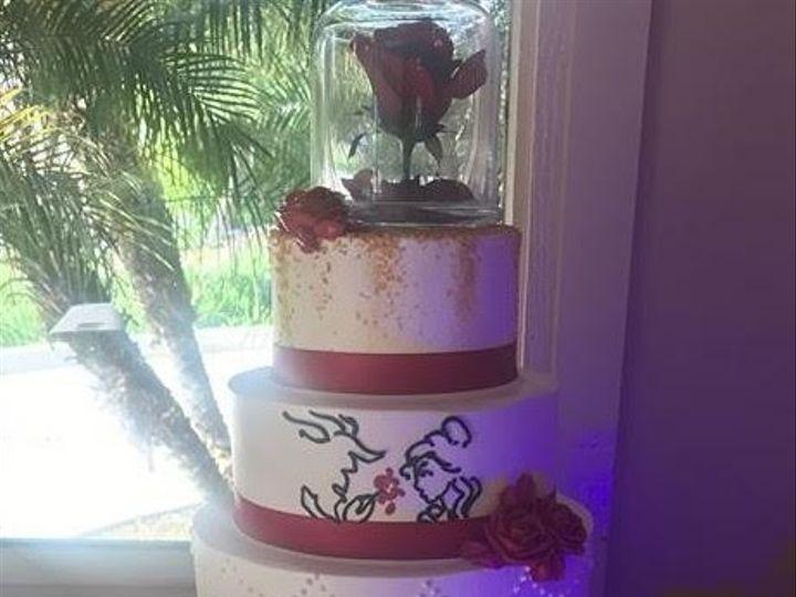 Tmx 1507918605648 Beauty And The Beast Claremont, California wedding cake
