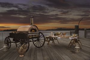 Tmx Pizza Wagon Sunset 51 1048547 V2 Brockton, MA wedding catering