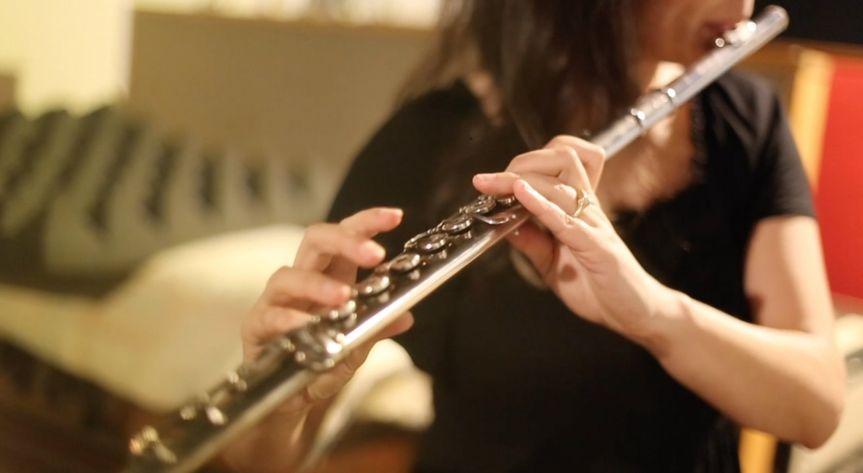 Leilani on flute