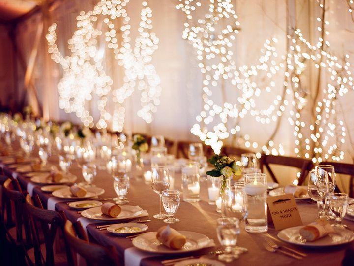 Stylish table setting, evening