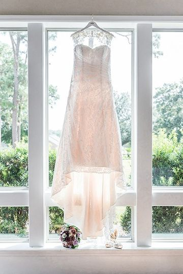 Sunlight and dress