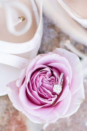 Ring in flower