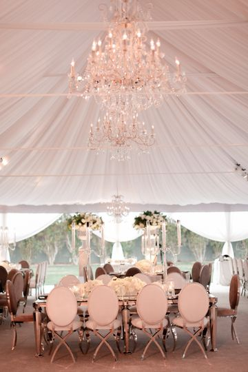 Classic Tented Reception