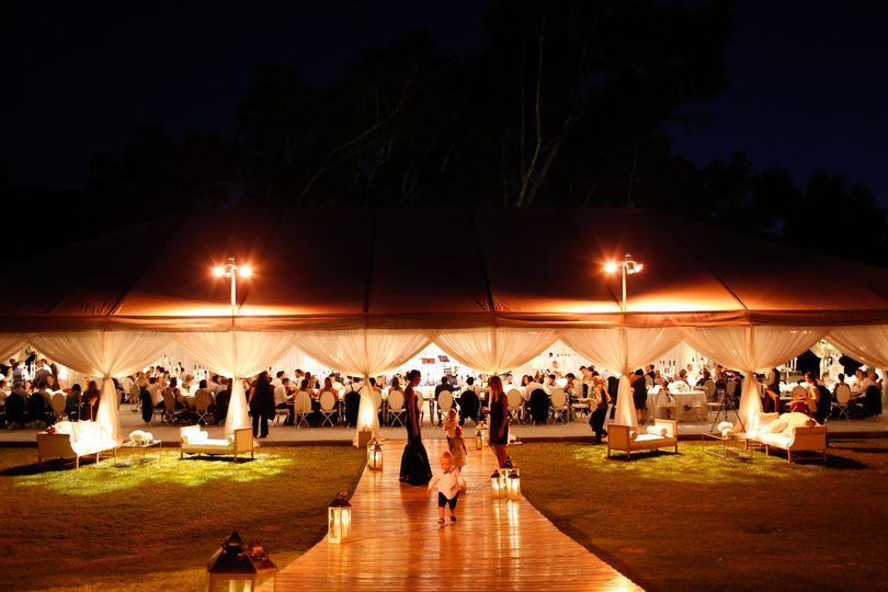 Tented Wedding in Ojai