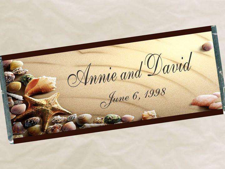 Tmx 1363034229921 W634ShellWrapper Roseville wedding favor