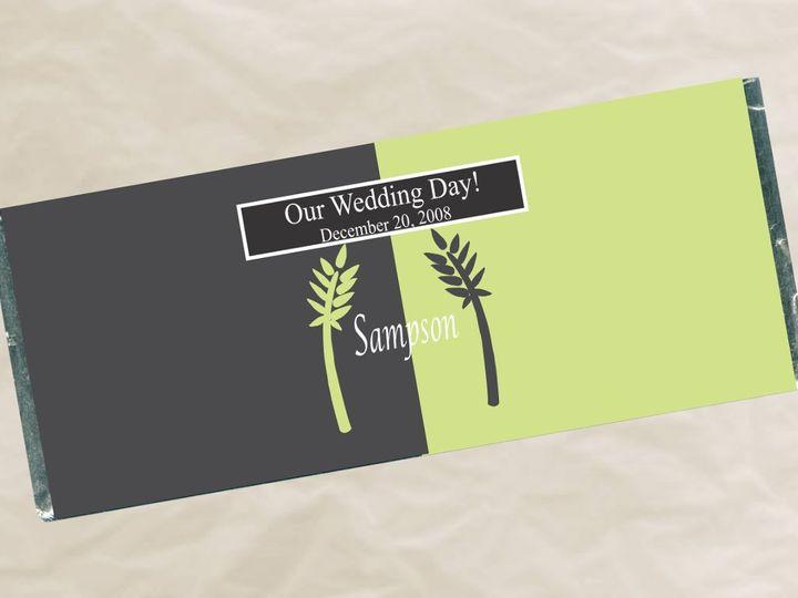 Tmx 1363134056726 W483PalmsWrapper Roseville wedding favor
