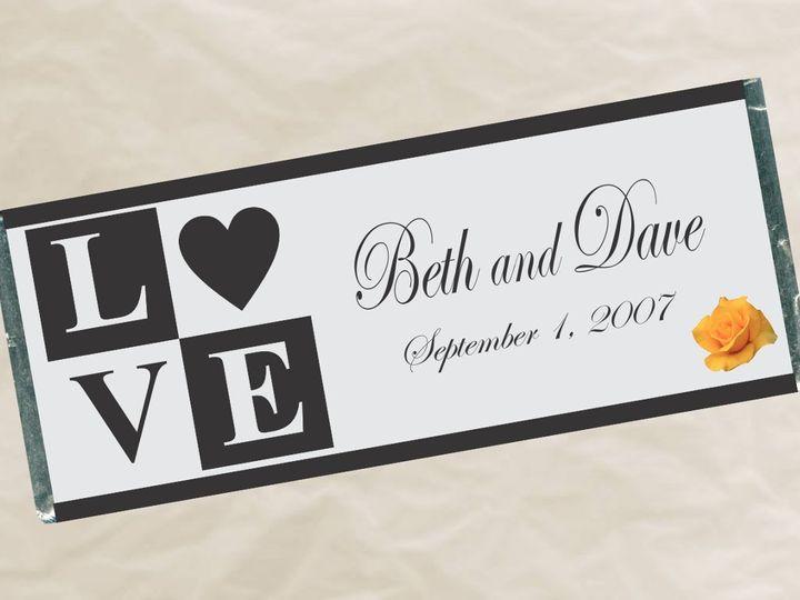 Tmx 1363134859333 W47LoveWrapper Roseville wedding favor