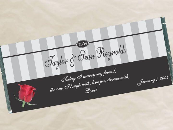 Tmx 1363135857894 W480StripesWrapper Roseville wedding favor