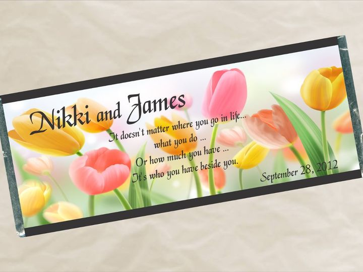 Tmx 1363137706271 W610TulipsWrapper Roseville wedding favor