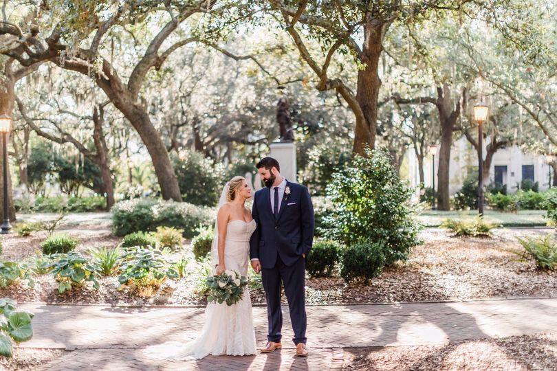 Romantic Savannah Squares