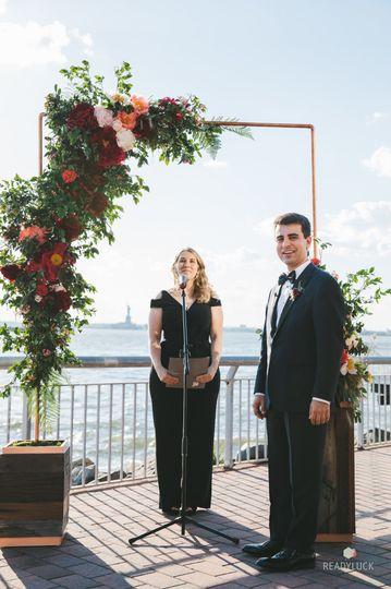 The waiting groom