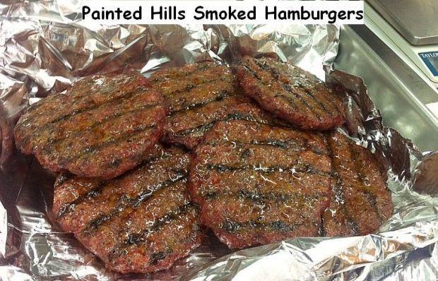 Plain hills smoked hamburger