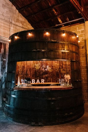 Redwood Barrel Bar