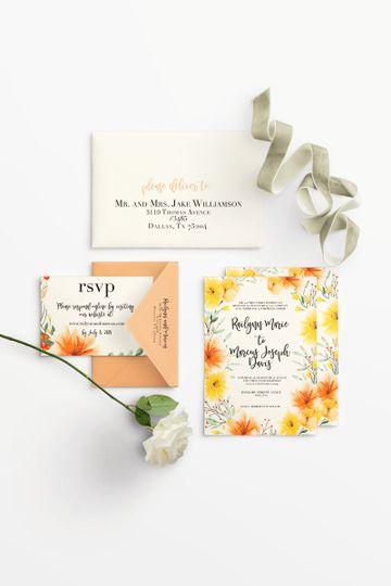 yellowfloral invite rsvp 51 1016647