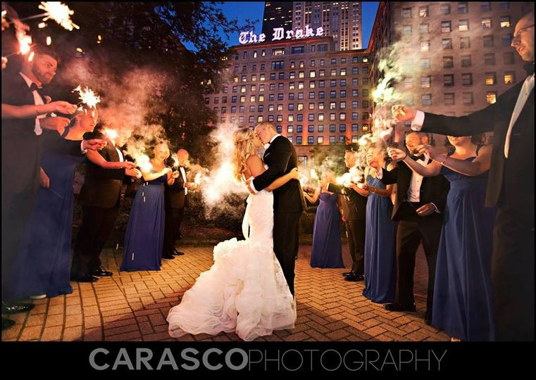 sparkler exitthe drake hotelcarasco photo