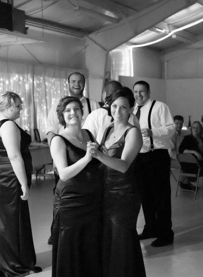 Bridesmaid fun