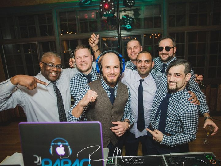 Tmx Groomsmen And Djs 2 At Darienne And Kenneth Wedding 01 25 20 51 147647 159104032255074 Poughkeepsie, NY wedding dj
