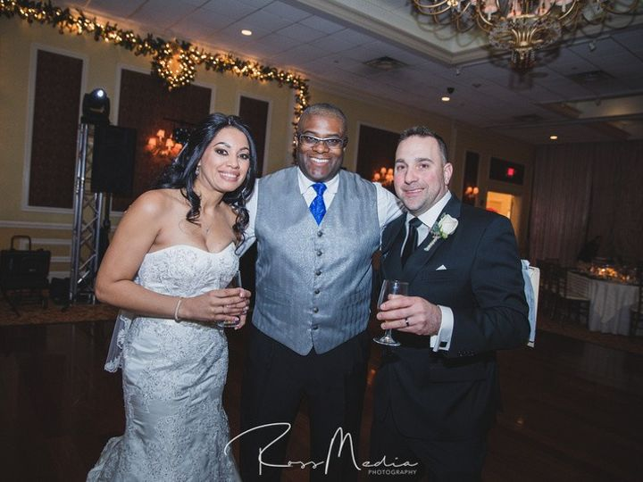 Tmx Portrait With Hobie At Grace And Brandon Wedding 01 30 17 51 147647 159104041979463 Poughkeepsie, NY wedding dj