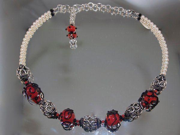 Tmx 1297209750379 BlackScrollNecklace Phoenixville wedding jewelry