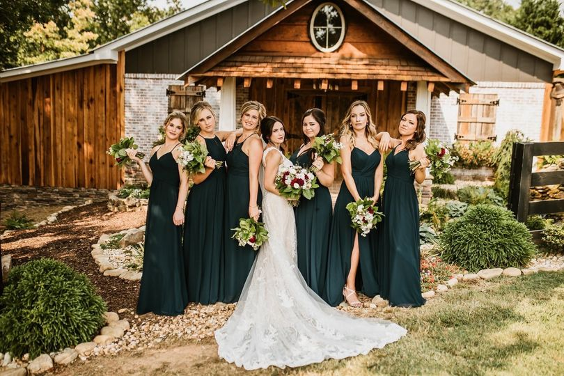 A rustic country wedding